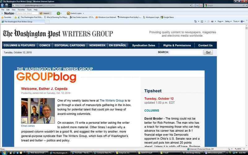 GroupBlogWelcomescreenshot